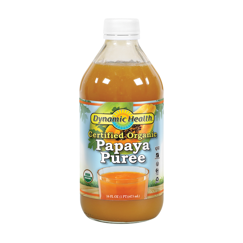 Dynamic Health Organic Papaya Puree  Pure.jpg
