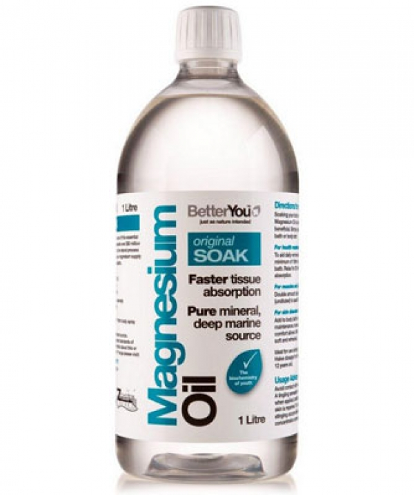 BetterYou Magnesium Oil Original Soak 1 Ltr