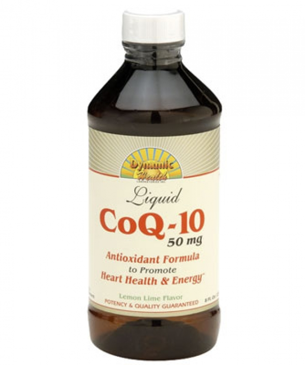 Dynamic Health Liquid CoQ-10 Antioxidant Formula with Orange Flavor