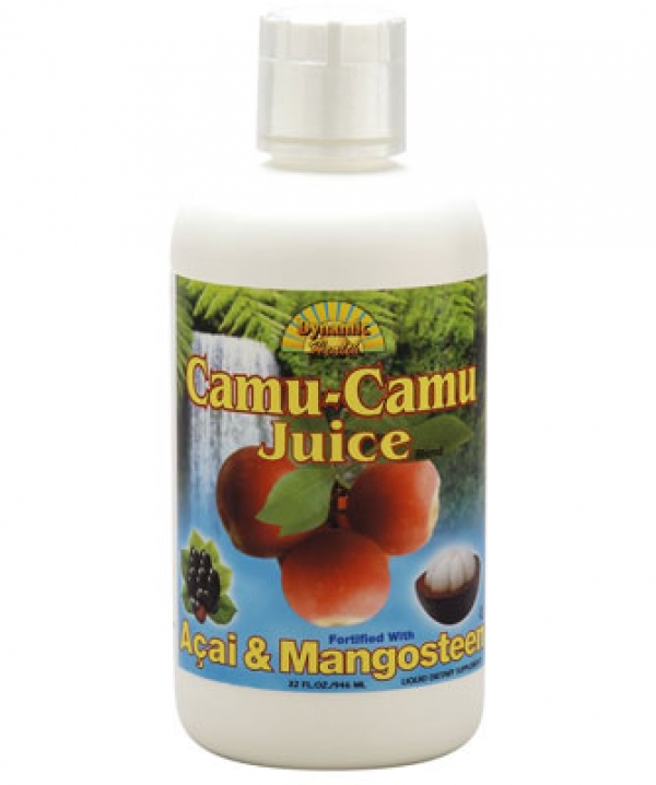 Dynamic Health Camu Camu Juice Blend Acai and Mangosteen