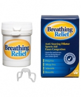 Breathing Relief Nasal Dilator with Anti Snoring Clip