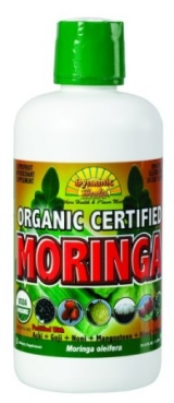 Dynamic Health Organic Certified Moringa Juice Blend