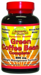 Dynamic Health Green Coffee Bean Complete Capsules