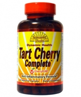 Dynamic Health Tart Cherry Complete with Cherry Pure Vegetable Capsules