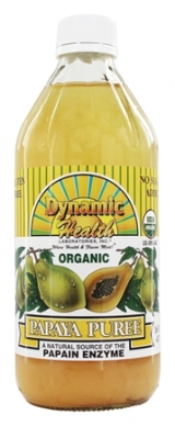 Dynamic Health Organic Papaya Puree 100% Pure