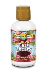 Dynamic Health Pure Organic Tart Cherry Juice Concentrate