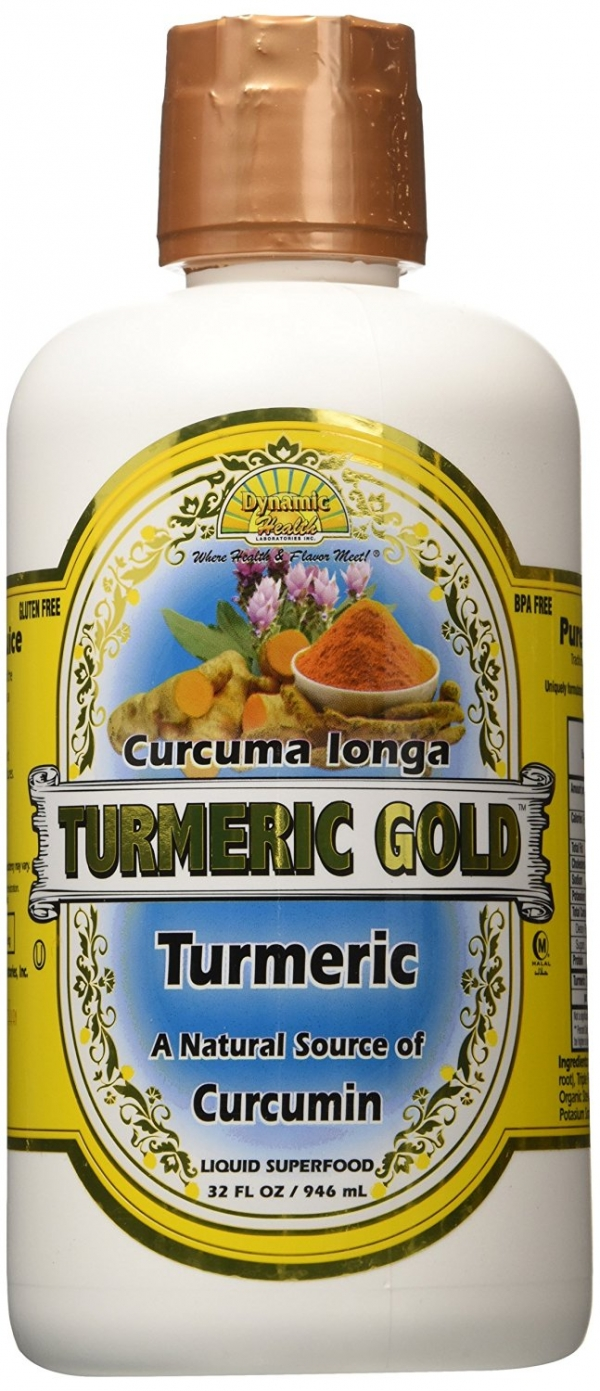 Dynamic Health Juice - Turmeric Gold