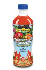 Dynamic Health Multivitamin & Minerals for Adults Once A Day Shot 32 oz