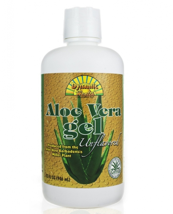 Dynamic Health Aloe Vera Gel Unflavoured Organic Certified