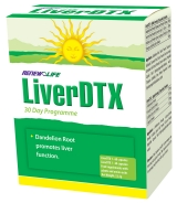 Renew Life LiverDTX Vegetable Capsules 30 Day Program