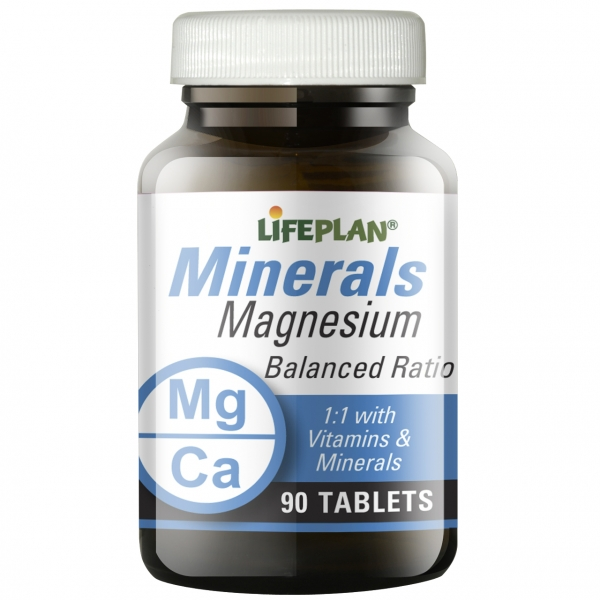 Lifeplan Magnesium Balanced Ratio 90 Tablets