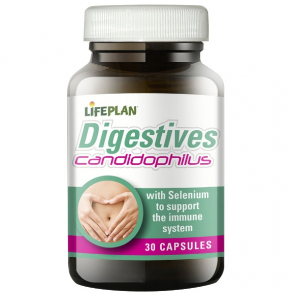 Lifeplan Digestives Candidophilus 30 Capsules
