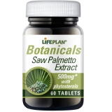 Lifeplan Saw Palmetto Extract 500mg 60 Tablets
