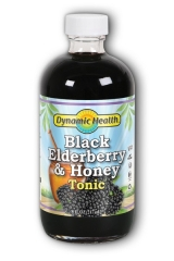 Dynamic Health Black Elderberry and Honey Tonic