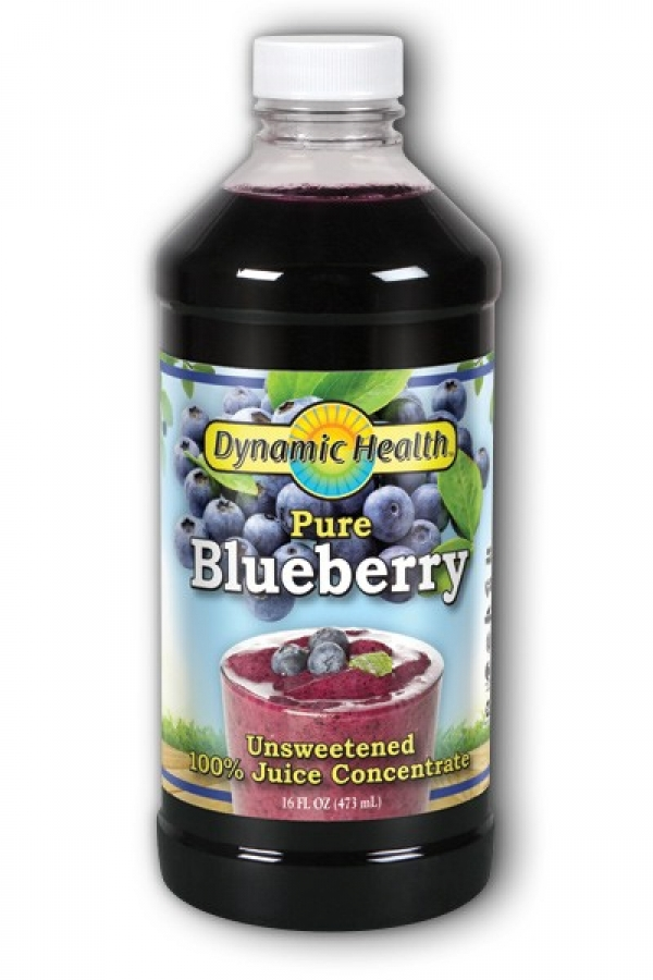 Dynamic Health Pure Blueberry Liquid Concentrate