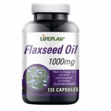 Lifeplan Flaxseed Oil Capsules - Pack of 135